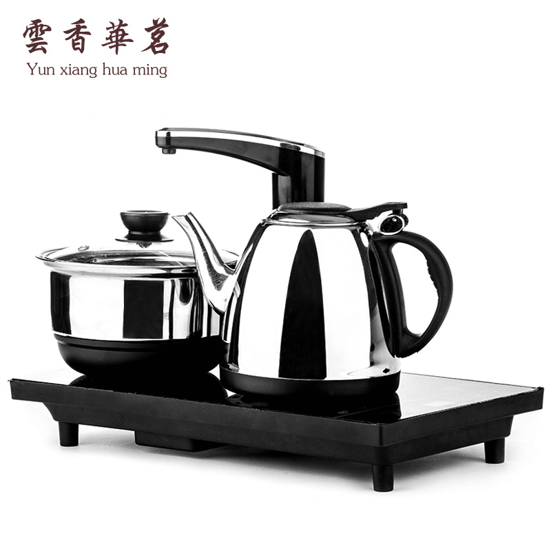 Jusen induction tea stove automatic water and water pumping tea ceremony kungfu boiling water 304 stainless steel electric kettle
