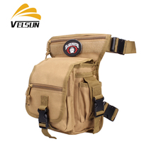 Velsun Tactical Leg Pack Multifunctional mens and womens canvas bag foreign foreign fans camouflage waistband motorcycle leggings Bag