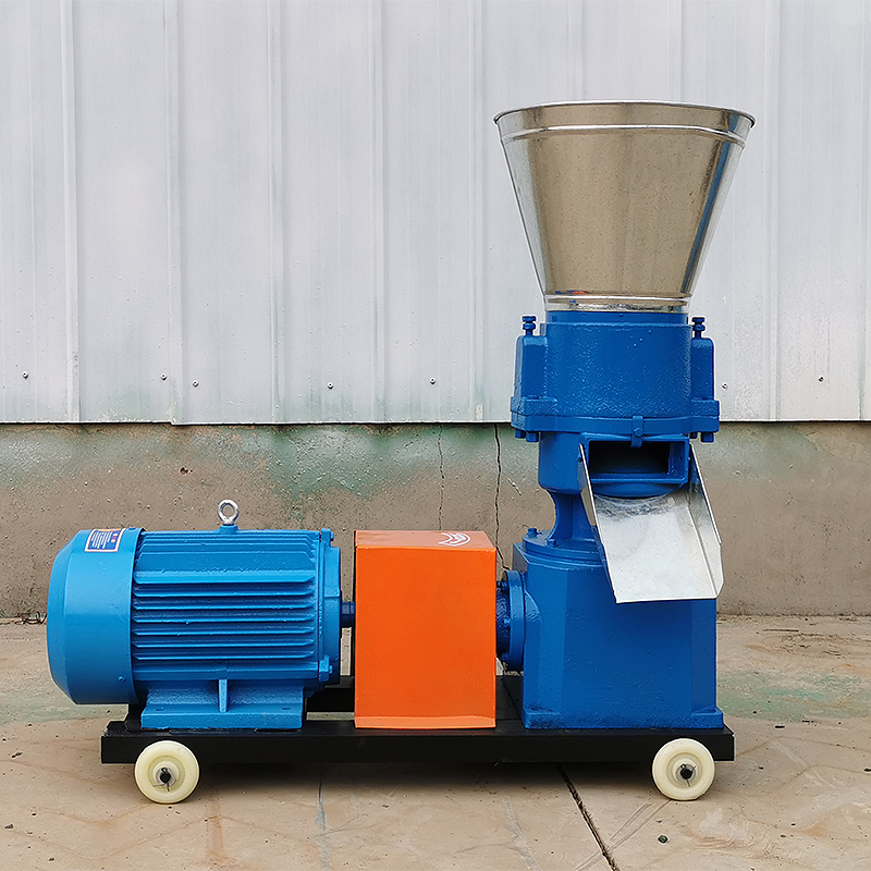 Feed particle machine small domestic livestock chicken duck fish rabbit pig cattle and sheep corn straw processing and breeding granulation machine