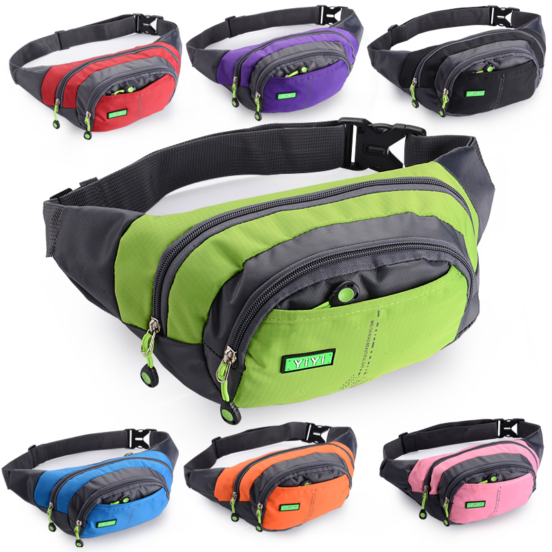 Sports outdoor multi-functional waterproof waist bag male and female large-capacity cash register business site work mobile phone bag