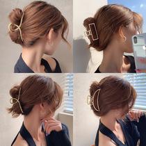 Net red hair clip headdress hair clip back of the head grab clip large hair card summer 2021 new shark clip female