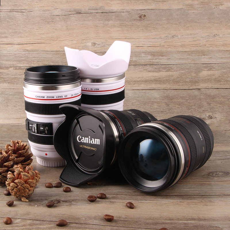 Trendy mens SLR lens water cup creative surprise special Valentines Day birthday gift to a friend boyfriend