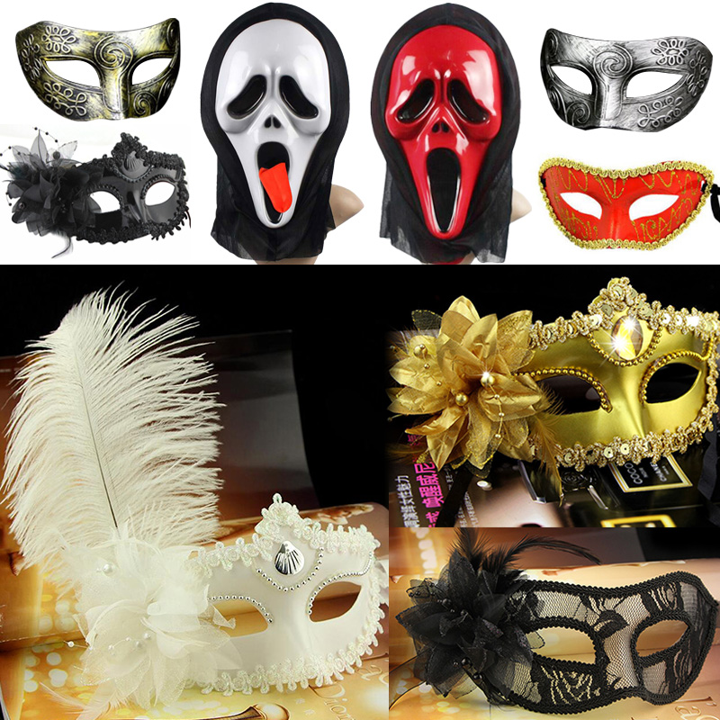 Cosplay,Halloween Mask for girl, halloween horror mask masquerade COS venetian masquerade mask