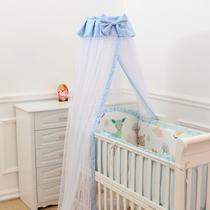 婴儿 蚊帐 带支架 宝宝蚊帐 儿童蚊帐 儿童床蚊帐婴儿落地蚊帐