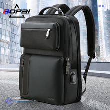 BOPAI Bo Brand Two-in-One Shoulder Bag for Men on Business and Leisure Business Travel Bag Brief about 15.6-inch Computer Backpack