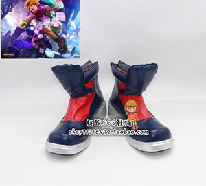 League of Legends Ezreal cosplay shoes Arcade version bhiner cosplay costume