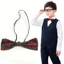 Шэньчжэнь униформа школьная форма мужской осенне-зимнее платье соответствия плед галстук галстук цветок аксессуары