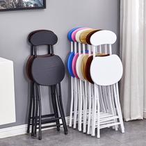 Складные стулья домашние обеденные стулья ленивый портативный досуг стул спинки стул общежития простой компьютерный стул складной стул