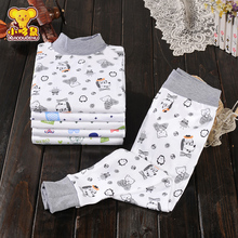 Boys, girls, warmth, autumn clothes, autumn pants, children's underwear, suits, cotton baby pajamas, children, spring and autumn.