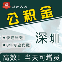 Shenzhen enterprise public fund management Non-Shenzhen household one two three medical pension insurance services Individual household consultation