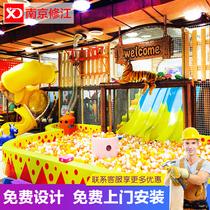 Новый непослушный замок детская площадка большой крытый детская площадка оборудование мать ребенок Chuang миллион мяч бассейн средства производителей