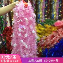 Noël ruban de laine rayé activité fête habiller salle de classe soirée fête arrangement flocon de neige rubiao accessoires de danse