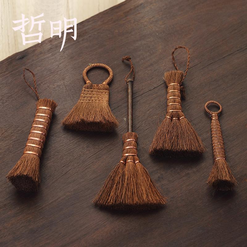 Zheming brown brush brown brush tea ceremony accessories pen tea plate sweep tea set brush cleaning pen pot pen hard