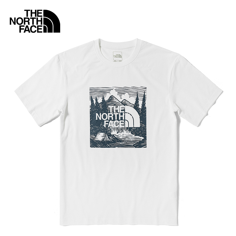 The North Face North Short Sleeve T-Shirt Neutral Outdoor Comfort Breathable On New) 7QRB