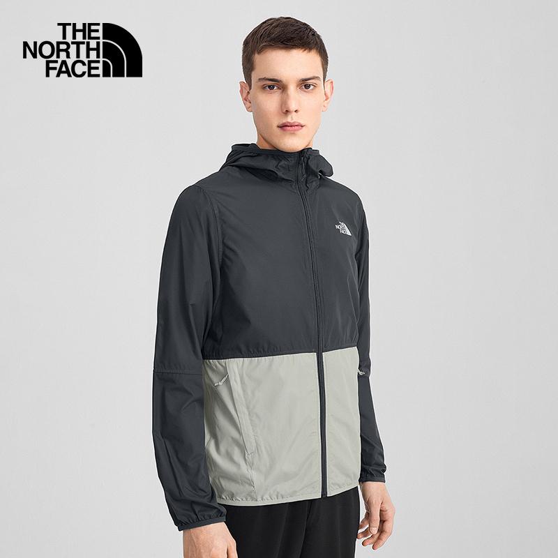 (Classic) The NorthFace North Windproof Jacket Mens Outdoor Comfort Anti-Splash Water New) 4NEF