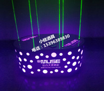 Bar Point Stage laser jump stage luminescent night ds dot platform Gogo can move small point stage collar stage