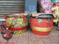 Authentic Lion Drum, Big Drum, Foshan Lion Drum, Lion Drum, Dragon Boat Drum, Lion South Lion Drum and Dragon Drum