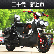 Acura electric battery motorcycle 60V72V male scooter adult double long-distance running Wang high-speed high-power