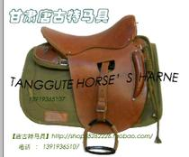 Sanhua 65 Military saddle high with full cavalry saddle China cavalry Saddle