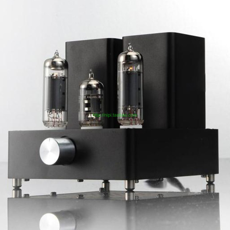 [The goods stop production and no stock]Hifi audio power amplifier European  import EL84 tube fever speaker stereo amp mini amplifier