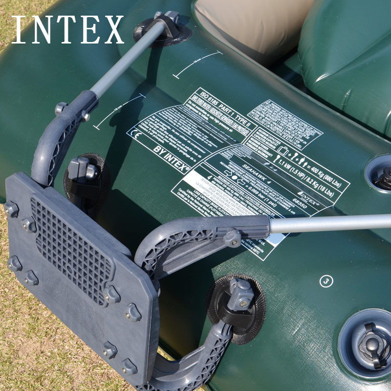 [The goods stop production and no stock]INTEX inflatable boat motor bracket rubber boat bracket fishing boat bracket Outboard aircraft bracket