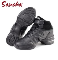Skazz by Sansha French three sands h52l square modern dance shoes men and women leather high air cushion