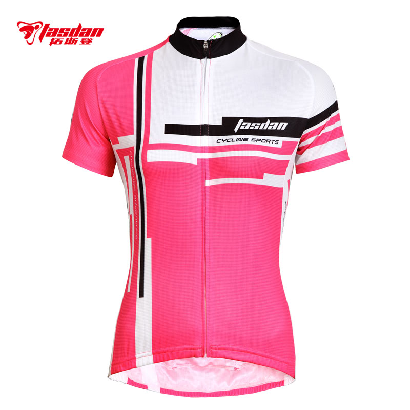 Tasdan summer dynamic cycling suit women's suit bicycle equipment bicycle clothing short sleeve suit jacket