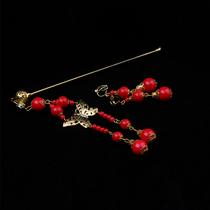 Honey Bride headdress wedding dress jewelry cheongsam Hair hairpin bridal flower Bride hair Hoop FZ-10