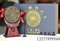 Business activities Gifts pure brass copper drum diameter 10cm Zhuang Xiang Copper drum Zhuang township characteristics Guangxi Copper Drum