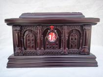 (Ping Ping) (God loves the world) Christ Jesus urn funeral supplies coffin