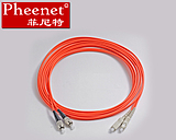 Pheenet Fenit FC-SC 5 m multi-mode fiber jumper dual-core pigtail carrier grade can be customized
