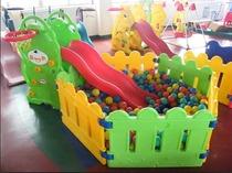 玩具汇滑梯球池组合 室内最爱多功能滑梯组合 送300海洋球