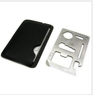 Stainless steel multi-function knife card all-purpose blade life-saving knife card delivery cover