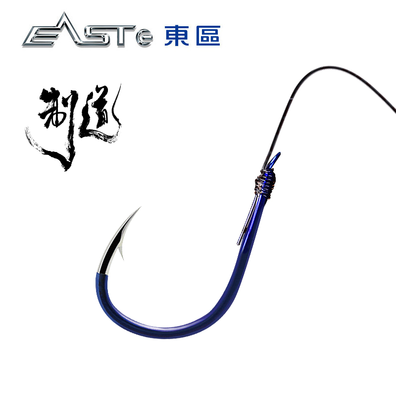 East District fishing tackle Shi Hang Road 3D hooks hand research hook ISE has barbed fishing pins Shi hang fishing accessories