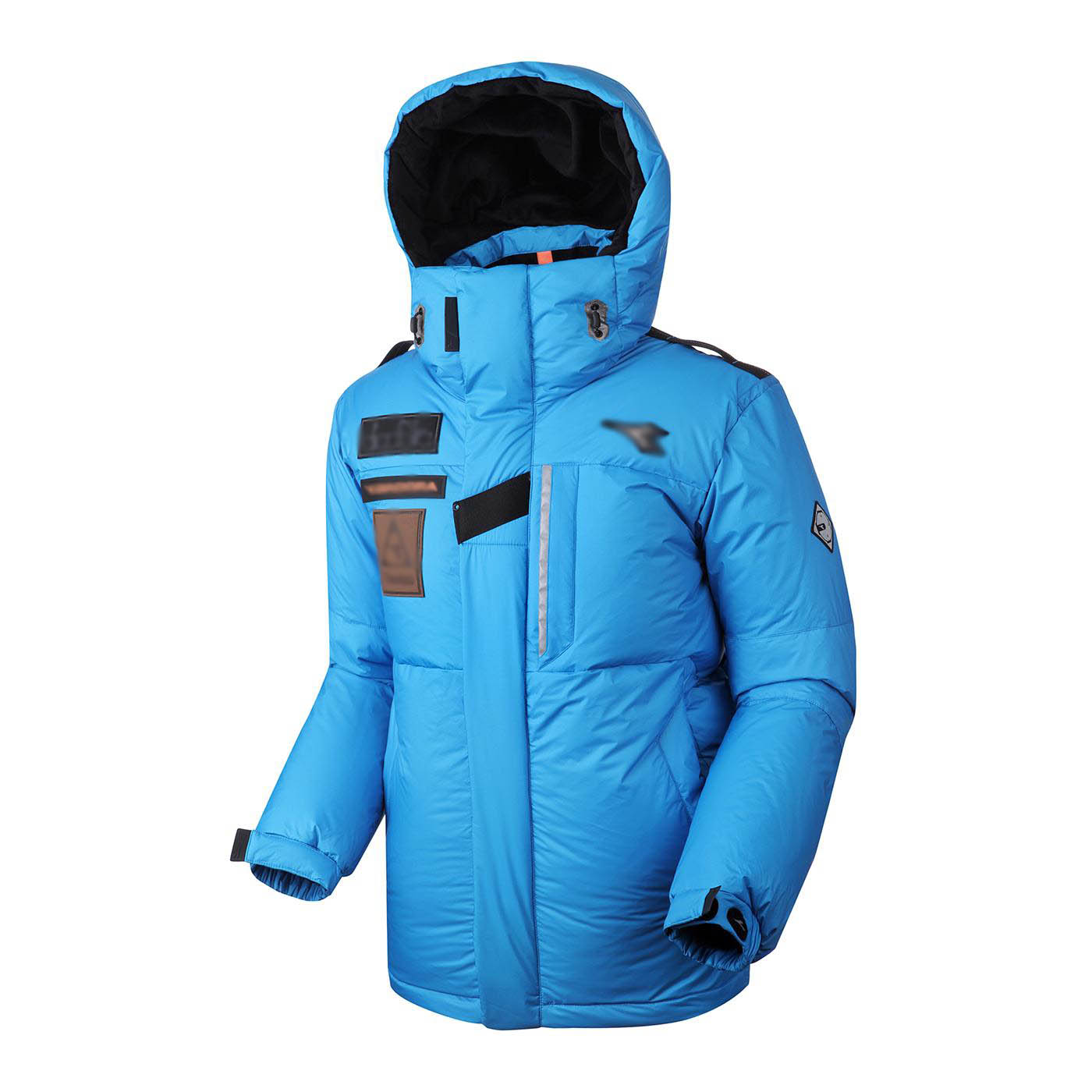 [The goods stop production and no stock]South Korean men's down jacket outdoor leisure, windproof, rainproof and super-warm men's velvet polar suit