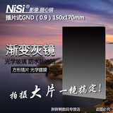 Square filter nisi resistant to the Department of 150mm 0.9 insert set in the gray gradient mirror gray gray square mirror