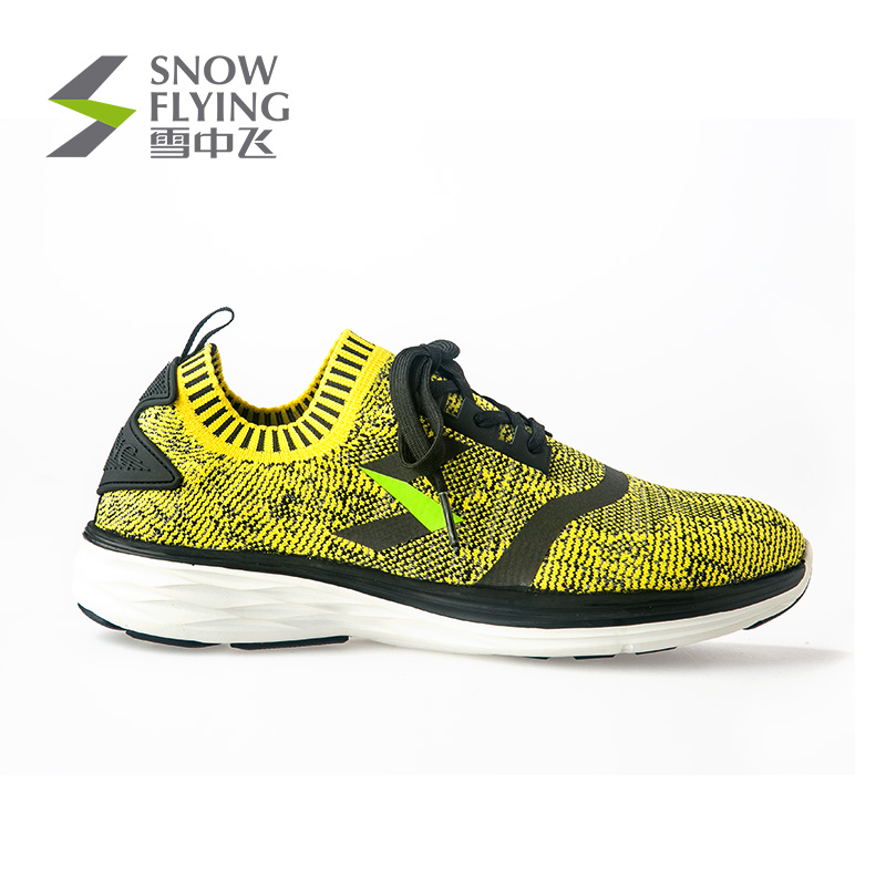 Snowfly Outdoor 2018 New Men's Fabric Breathable Men's Shoes Ultra Light Sports Running Shoes