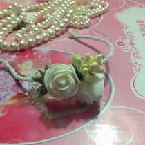 Doll special tiara headband with roses card night loli baby special accessories not included