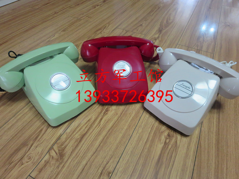 The new Extra Jiangdu HG881 powered phone HG-1 vintage collection phone theme props