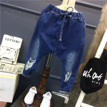 2017 years boys pp pants Korean childrens clothes in casual jeans trousers children da Tong Halun pants Chao