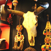 Yak skull Wall Decoration decoration specimen craft gift cattle sheep Skull Tattoo shop bull head Decoration