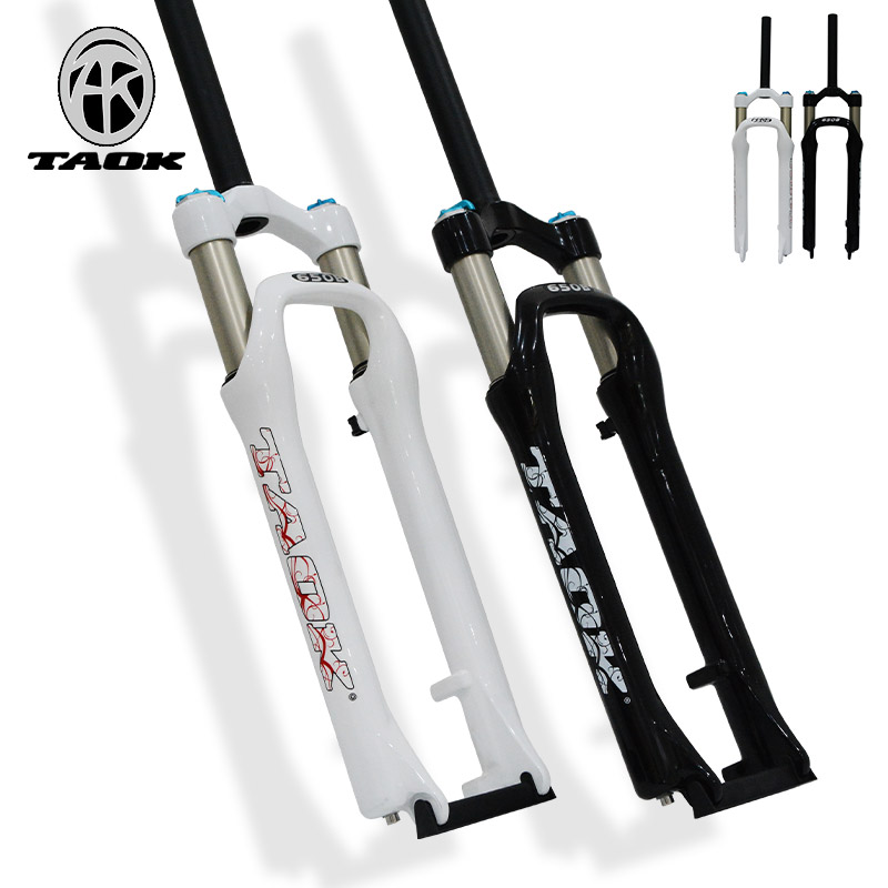 TAOK Tuoke Mountain Bike Front Fork 27.5 inch Bicycle Air Fork Disc Brake Death Fork 650B Shock Absorption