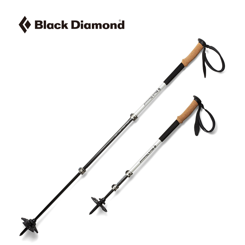 Blackdiamond Black Drill BD Cane New Outdoor Four Seasons Walking Cane Light Carbon Mountaineering Cane 112514
