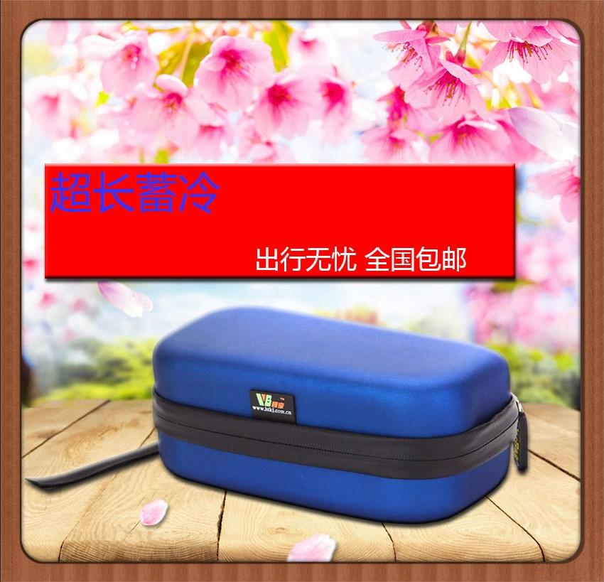 Insulin Refrigerator Ice Pack No. 2113 Waterproof and Pressure-proof Mini Portable Insulin Insulation Pack