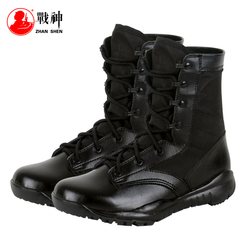 Ares combat boots men's outdoor hiking shoes spring and summer high help ventilation tactical boots