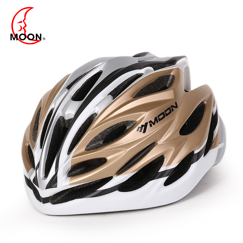 Moon helmet 2017 new one-piece riding helmet men and women bicycle road helmet riding equipment