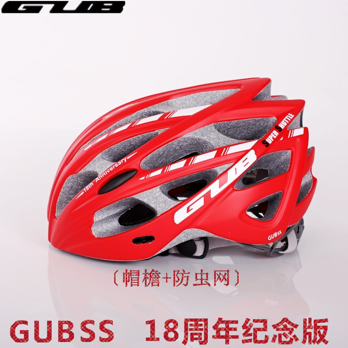 GUB SS road mountain bike bicycle riding helmet integrated molding insect net ultra light equipment for men and women