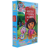 Love Adventure Dora Dvd HD Genuine Adventure DORA Looking for ABC Animals Chinese & English Cartoon CD