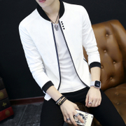 In the spring of 2017 new men's casual jacket thin slim Jacket Mens jacket in the spring and autumn spring tide.