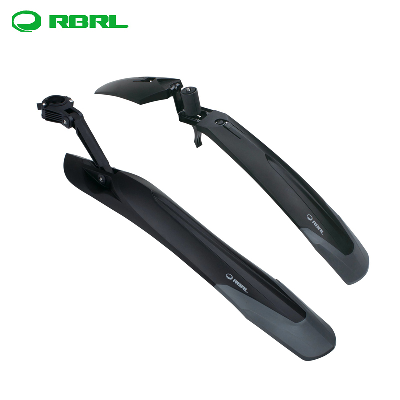 RBRL bicycle fender 27.5 inch mountain bike quick disassembly mud removal adjustable high and low accessories